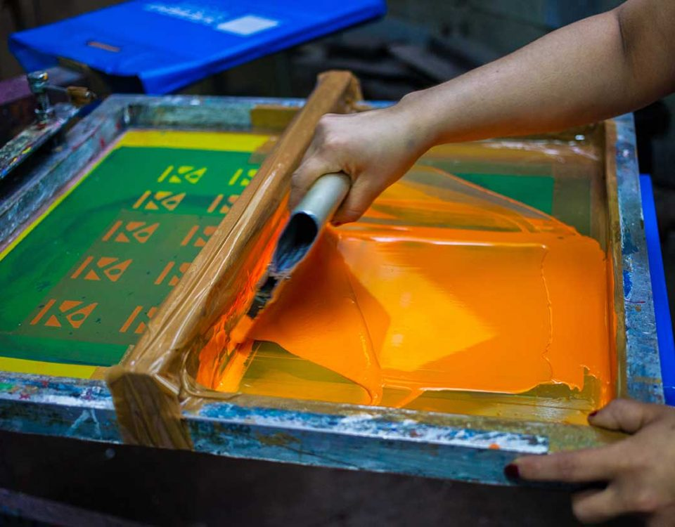 Paint-on-a-Screen-for-Screen-Printing